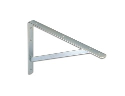 Flat bar heavy-duty bracket for high capacity load