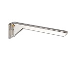 Reversible shelf bracket