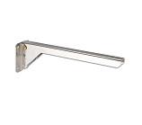 Reversible shelf bracket