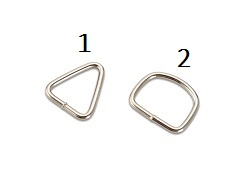 Welded wire buckles