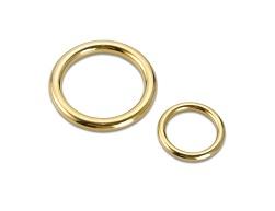 Zylindrische Ringe für Vorhänge